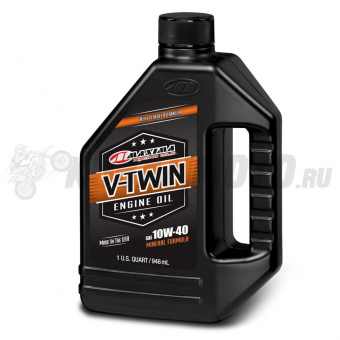 Масло MAXIMA V-Twin full Mineral 10w40 1л.